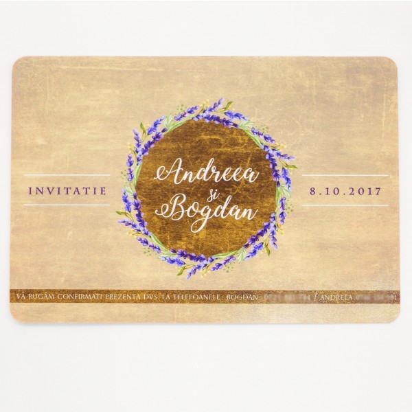 Invitatie nunta BIN149