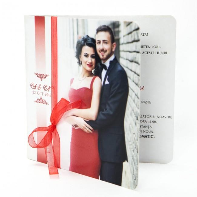 Invitatie Nunta Tip Poza Bin180 Invitatii Nunta Albume Foto