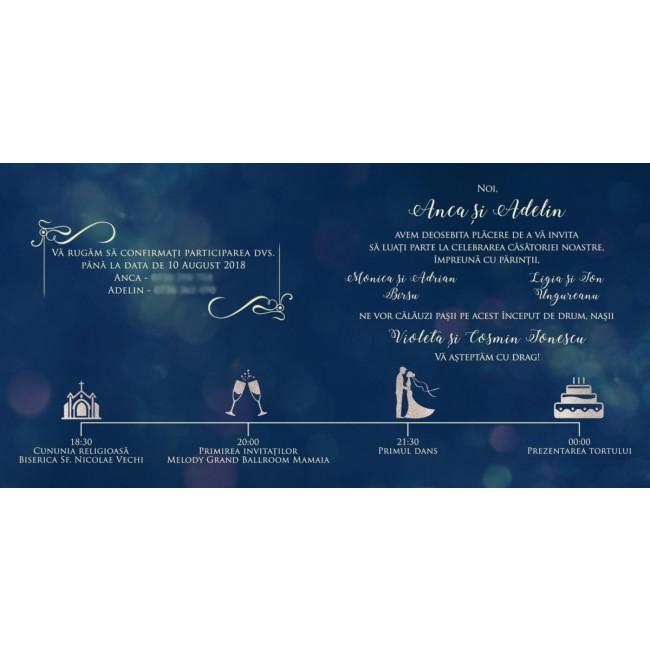 Invitatie Nunta Bin128 Invitatii Nunta Albume Foto Invitatii Botez