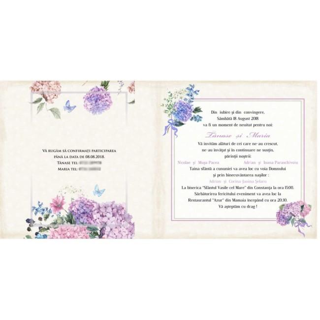 Invitatie Nunta Bin135 Invitatii Nunta Albume Foto Invitatii Botez
