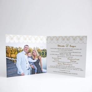 Invitatie nunta tip poza BIN146