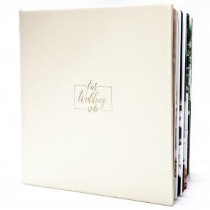 Album foto din piele naturala 30x30 cm - BAFPN100