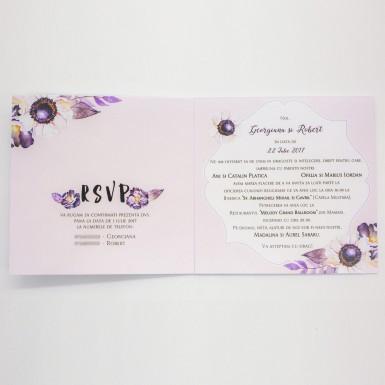 Invitatie nunta BIN152
