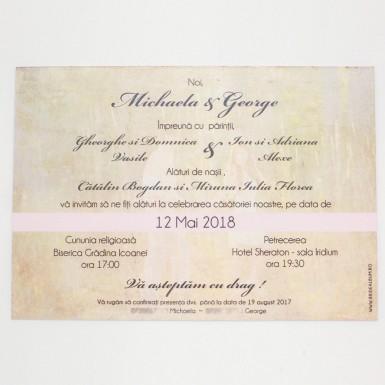 Invitatie nunta BIN157