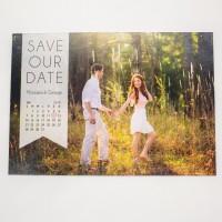 Invitatie nunta tip calendar BIN157