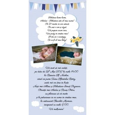 Invitatie botez BIB232